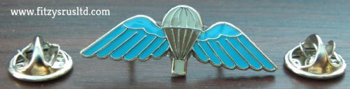 Parachute Wings Lapel Hat Cap Tie Pin Badge Army Parachutist Paras